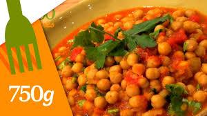 cuisiner des pois chiches recette de curry de pois chiches 750 grammes