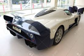 maserati vector back view of maserati racing car at naza italia stock photo