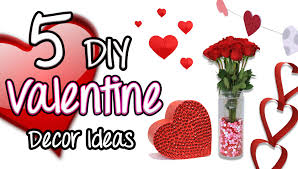 Valentine S Day Decorations Ideas Diy by 5 Diy Valentine Decor Ideas Brooklyn And Bailey Youtube