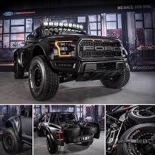 Ford Raptor With Lift Kit - 2017 ford raptor ultimate prerunner from sema