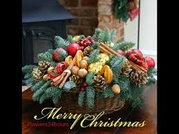 Decorated Christmas Tree London by Christmas Flower Arrangements And Decorated Christmas Trees For