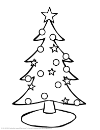 coloring page of christmas tree with presents christmas tree coloring pages getcoloringpages free free coloring