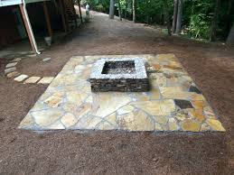 Paver Patio Designs With Fire Pit Patio Ideas Paver Patio With Wood Burning Fire Pit And Cover On