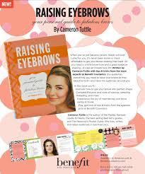 Shaping Eyebrows At Home Plus Size Kitten Benefit U0027s Brow Shaping Workshop U0026 Raising