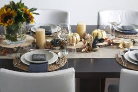 thanksgiving setting the family table polished