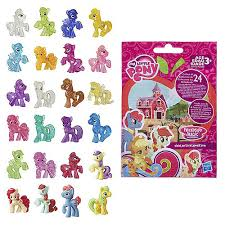 My Little Pony Blind Bags Box Clear Image Of Wave 13 Ponies And Bag Mlp Merch