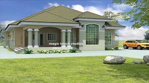 house designs and floor plans in nigeria bedroom bungalow house plan nigeria ghana home building plans