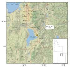 Map Of Southern Utah November 2016 U Of U Seismograph Stations
