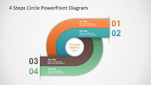 Fishbone Diagram Template Powerpoint Free by 4 Steps Circle Powerpoint Diagram Professional Presentation