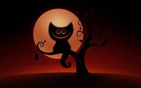 scary art cat halloween wallpaper 4960 wallpaper themes