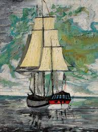 Nautical Painting 451 Best Palette Knife Art And Ideas Images On Pinterest Knife