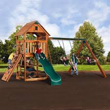 Backyard Playground Slides by Backyard Playsets Swingsets Wooden Playsets Backyard Adventures