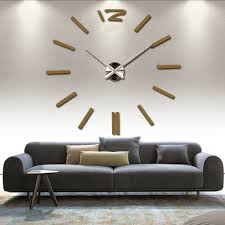 fashion new home decor wall clock european oversized living room