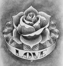 collection of 25 rose tattoo designs