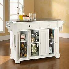 kitchen island stainless steel top stainless steel kitchen islands kitchen carts ebay