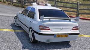 peugeot 506 car peugeot taxi gta5 mods com