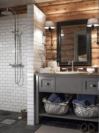 rustic cabin bathroom ideas 103 best images about mountain house on master