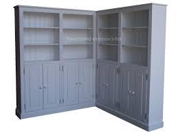 white corner bookcases image yvotube com
