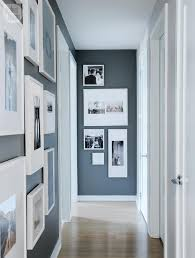 Dark Grey Accent Wall by Gallery Wall Small Space Gallery Walls Photo Tracey Ayton