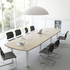 Office Furniture Table Meeting Contemporary Boardroom Table Wooden Rectangular Round