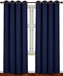 Kitchen Kitchen Curtain Sets Standard by Amazon Com Blackout Room Darkening Curtains Window Panel Drapes