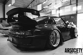 rauh welt begriff porsche 911 993 964 bagged airrex accuair car racing