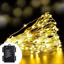 boruit 6 3m 600led warm string light fairy lights outdoor home for