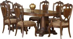 old world dining room tables a r t furniture old world 7 piece dining set homemakers furniture