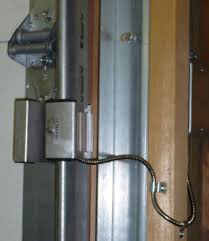 Overhead Security Door Bct Alarm Systems Commercial Security In Lorain County Ohio