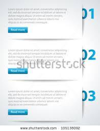 design header paper website header design template vector illustration eps 10 stock