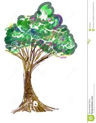 Painting Icon Tree Painting Icon Stock Vector Image 50706437
