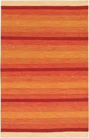 Orange Modern Rugs Modernrugs Com Gradient Sunset View Orange Modern Rug Fiery
