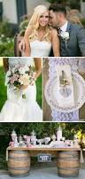 blush shabby chic backyard california wedding real weddings ideas