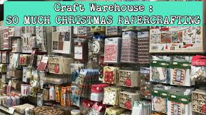 craft warehouse all the christmas paper lines shop with me