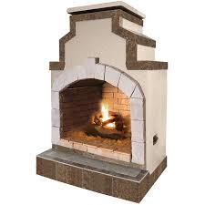 Outdoor Propane Fireplace Triyae Com U003d Backyard Fireplace Lowes Various Design Inspiration