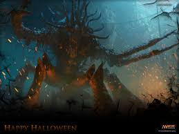 secret wallpaper of the week halloween 2012 magic the gathering