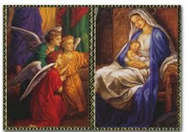 25 religious cards baby jesus