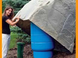 dekorra model 114 artificial boulder pressure tank cover fake