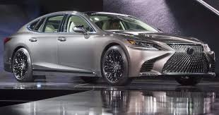lexus sedan models 2017 2018 lexus ls luxury sedan at 2017 detroit auto show