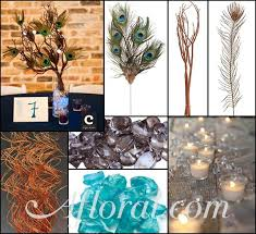 peacock centerpieces peacock feather centerpiece emily s inspiration board afloral