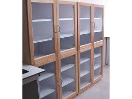 Storage Cabinets Glass Doors Glass Door Storage Cabinets Handballtunisie Org