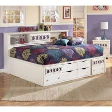 Bookcase Bed Frame Zayley Bookcase Bed Signature Design By Ashley Furniture