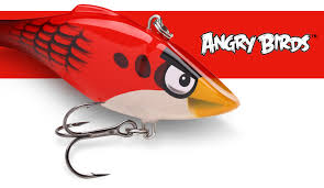 angry birds products rapala