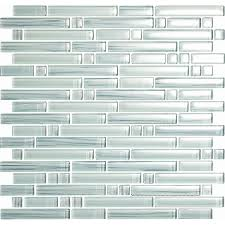 Glass Mosaic Tile Kitchen Backsplash Ideas Back Splash Shop Epoch Architectural Surfaces 5 Pack 12 In X 12