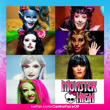 Monster High Halloween Pictures by Central Face Off On Twitter
