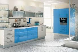modern blue kitchen unique blue kitchen tiles taste