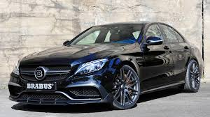 mercedes hp 600 hp c class brabus dials up mercedes amg c63 s for frankfurt
