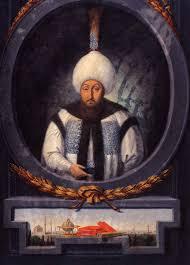 Ottoman Ruler An Ottoman Sultan And His Blue Tiled