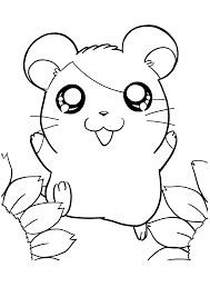 nice hamtaro coloring pages 133 mcoloring pinterest hamtaro