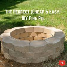 Cheap Firepit Cheap Pit Ideas Your Weekend Project The Cheaps And